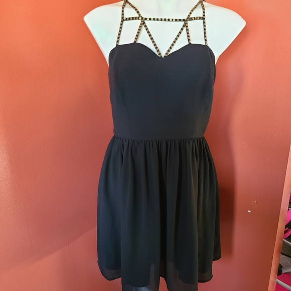 Forever 21 Contemporary Mini Dress Strappy
